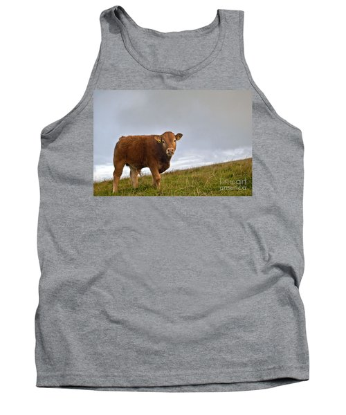 Cliffs Of Moher Brown Cow Tank Top