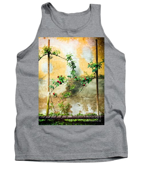 Tank Top featuring the photograph Climbing Rose Plant by Silvia Ganora