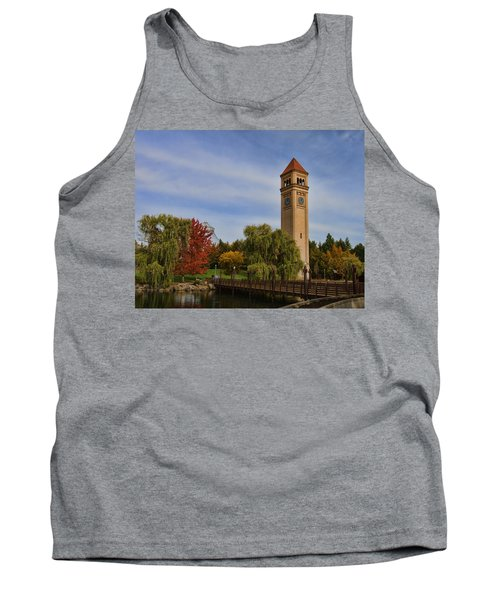 Clocktower Fall Colors Tank Top