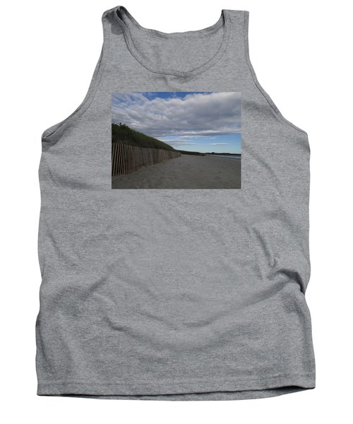 Clouded Beach Tank Top by Robert Nickologianis