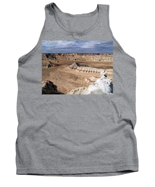 Tank Top featuring the photograph Coal Mine Mesa 11 by Jeff Brunton