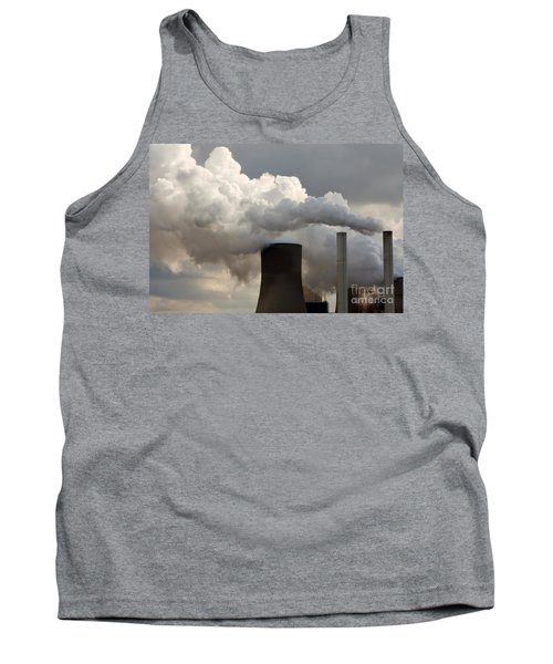 Coal Power Station Blasting Away Tank Top