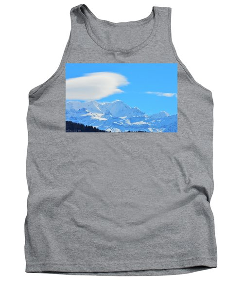 Cold And Sunny Alps Tank Top
