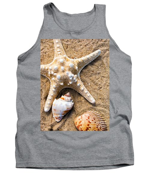 Collecting Shells Tank Top