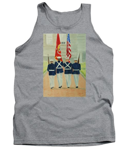 Color Guard Tank Top