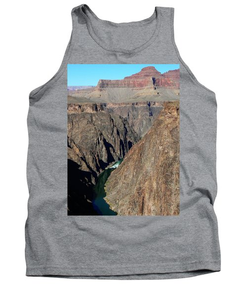 Colorado River From Plateau Point Tank Top