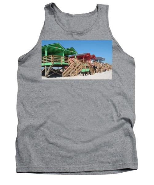Colorful Cabanas Tank Top