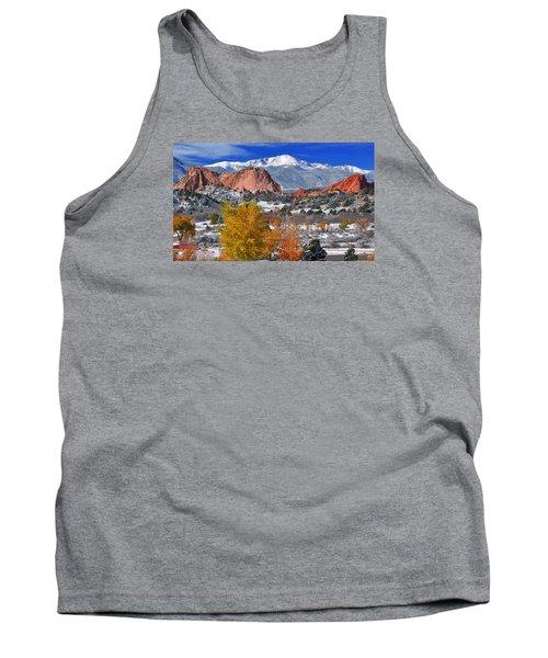 Colorful Colorado Tank Top by John Hoffman