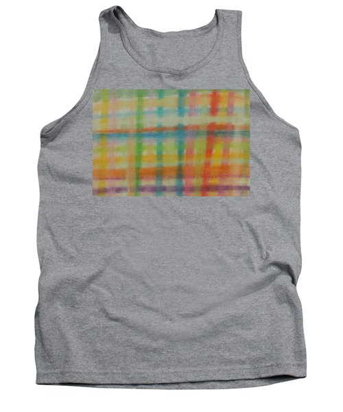 Colorful Plaid Tank Top