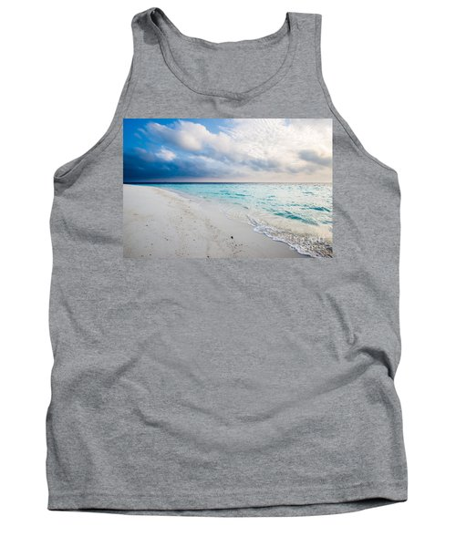 Colors Of Paradise Tank Top by Hannes Cmarits