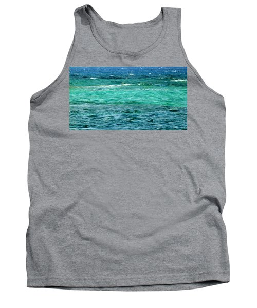Colors Of The Sea  Tank Top