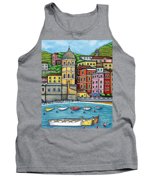 Colours Of Vernazza Tank Top