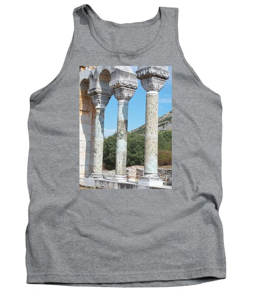 Tank Top featuring the photograph Columns by Marilyn Zalatan
