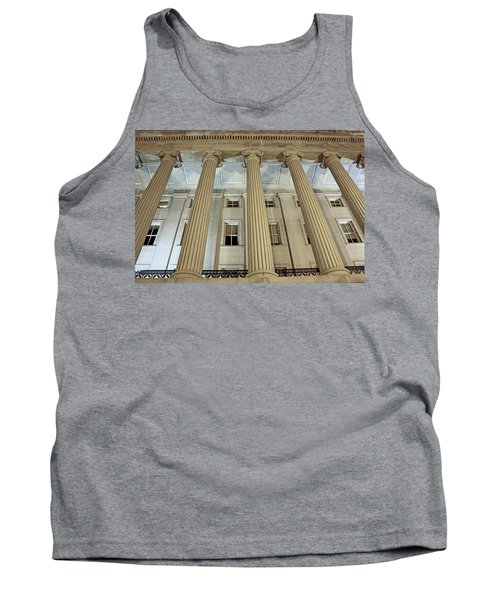 Tank Top featuring the photograph Columns Of History by Suzanne Stout