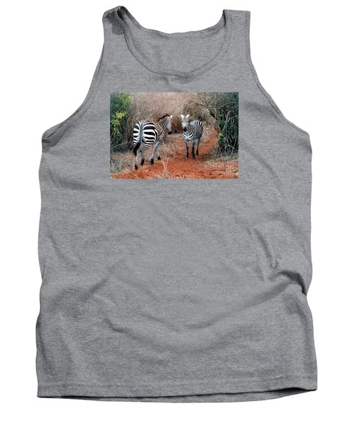 Tank Top featuring the photograph Coming And Going by Phyllis Kaltenbach