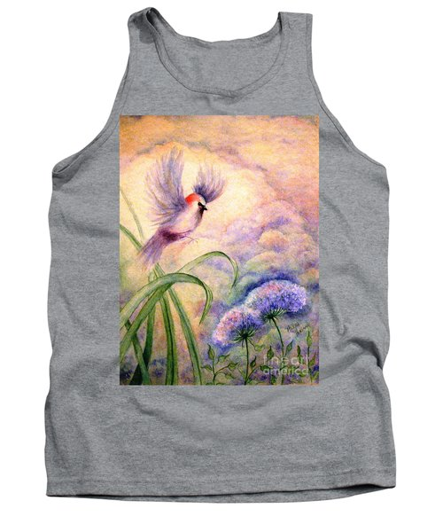Coming To Rest Tank Top by Hazel Holland