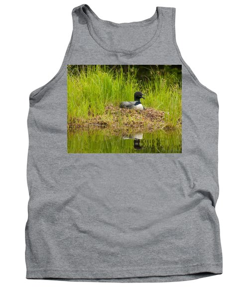 Common Loon Nesting Tank Top