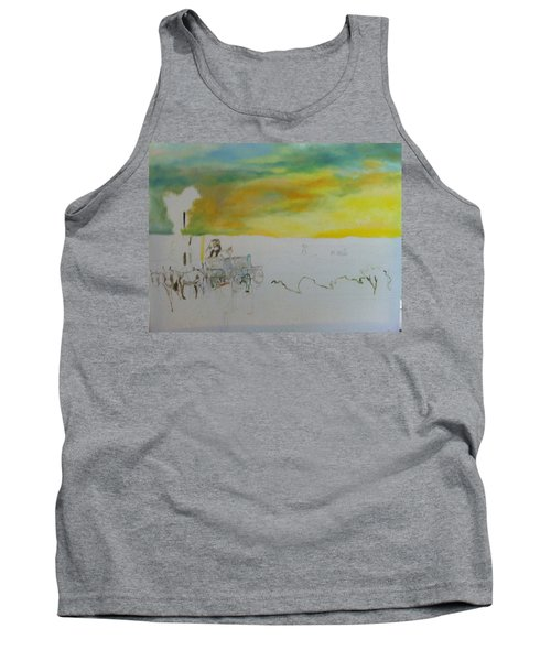 Composition Tank Top