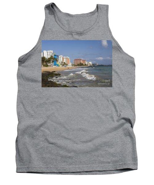 Condado Beach San Juan Puerto Rico Tank Top