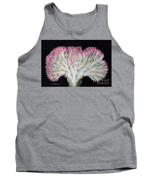 Coral Cactus Tank Top