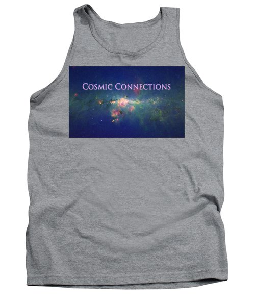 Tank Top featuring the photograph Cosmic Connections by Lanita Williams