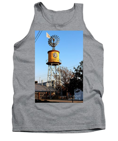 Cotton Belt Route Water Tower In Grapevine Tank Top