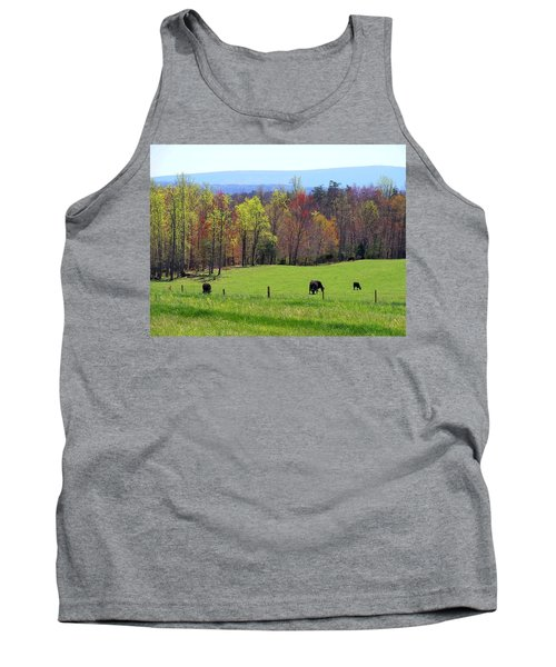 Tank Top featuring the photograph Countryside In Spring by Kathryn Meyer