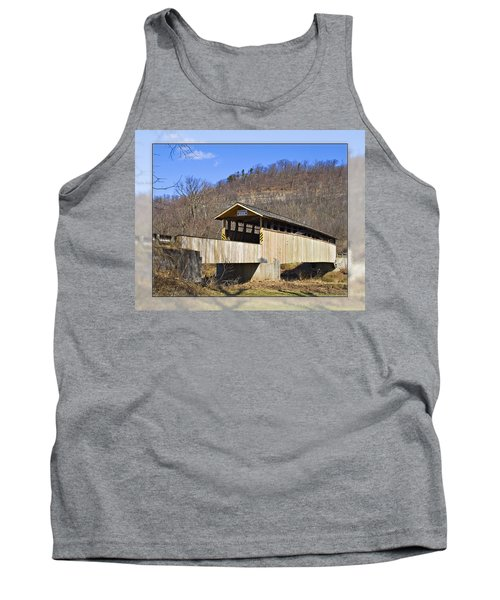Covered Bridge In Pa. Tank Top