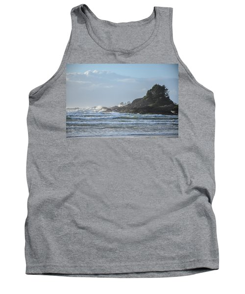 Cox Bay Afternoon Waves Tank Top by Roxy Hurtubise