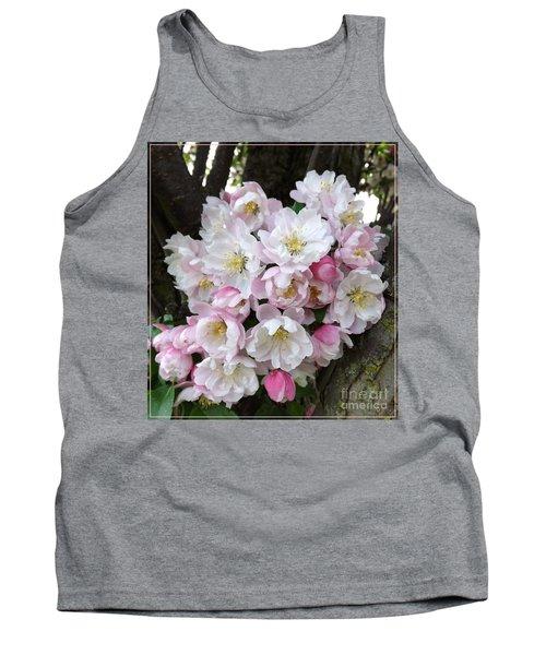 Crab Apple Blossoms Tank Top