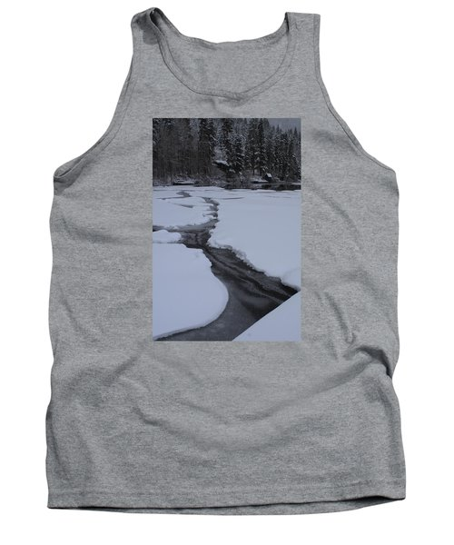 Cracked Ice  Tank Top by Duncan Selby