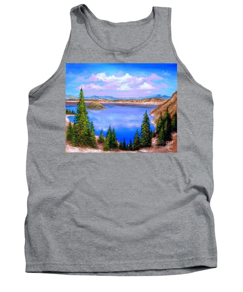 Crater Lake Oregon Tank Top