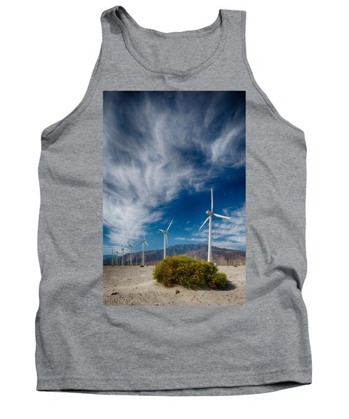 Creosote And Wind Turbines Tank Top