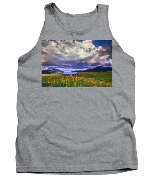 Crested Butte Morning Storm Tank Top