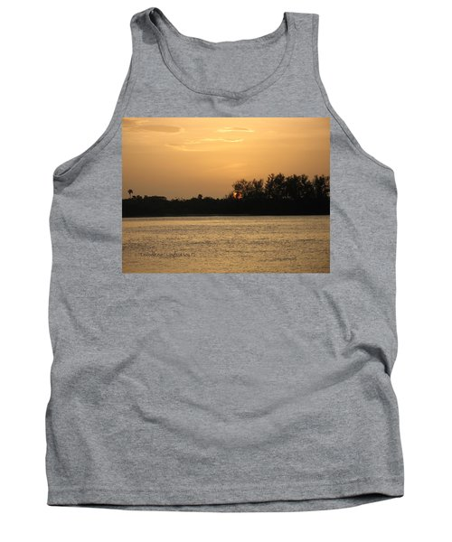 Tank Top featuring the photograph Crocodile Eye by Kathy Barney