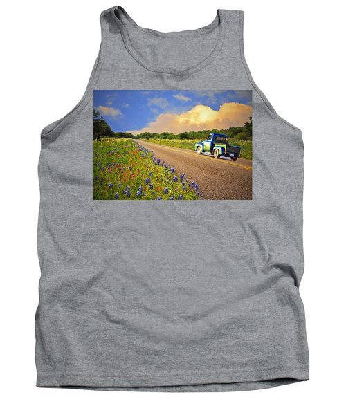 Crusin' The Hill Country In Spring Tank Top