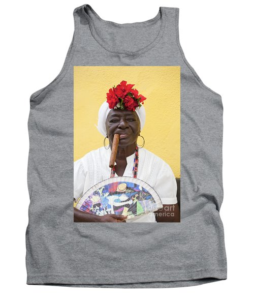 Cuban Lady Two Tank Top