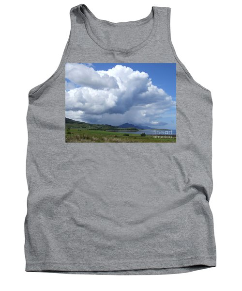 Tank Top featuring the photograph Cumulus Clouds - Isle Of Skye by Phil Banks