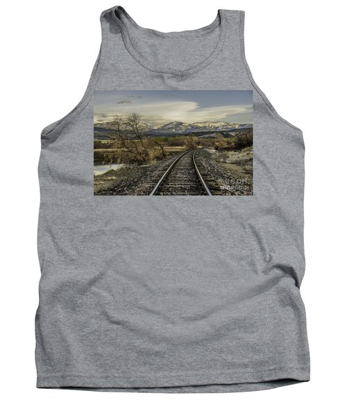 Curve In The Tracks Tank Top
