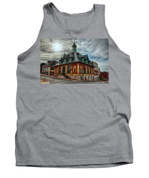 Customs House Museum Tank Top by Dan McManus