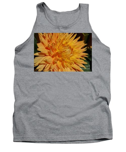 Tank Top featuring the photograph Dahlia Xiii by Christiane Hellner-OBrien