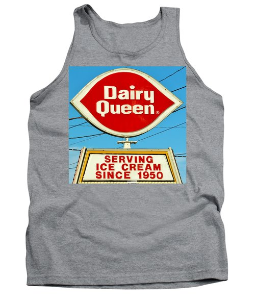 Dairy Queen Sign Tank Top