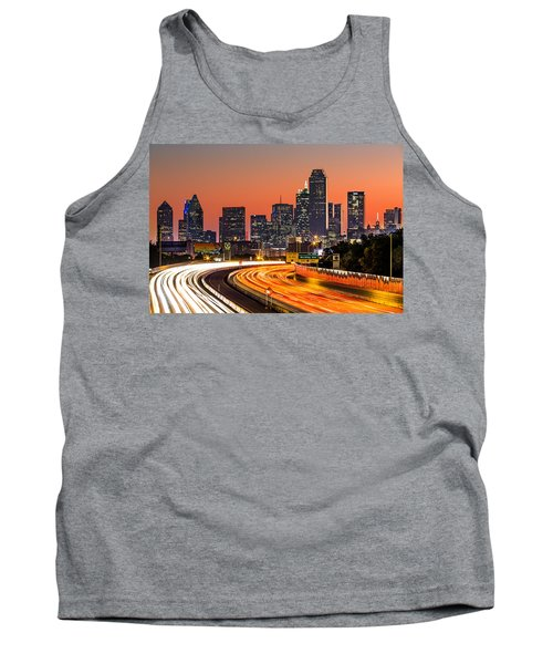 Dallas Sunrise Tank Top