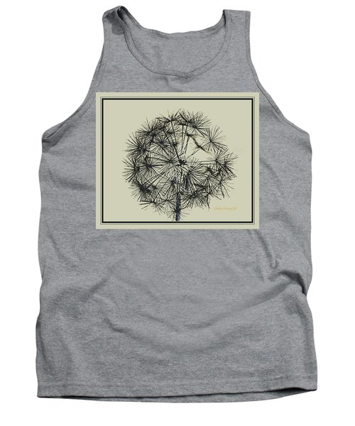 Tank Top featuring the photograph Dandelion 6 by Kathy Barney