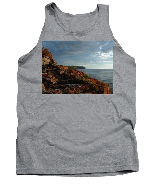 Daybreak At Campsite 19 Tank Top by James Peterson