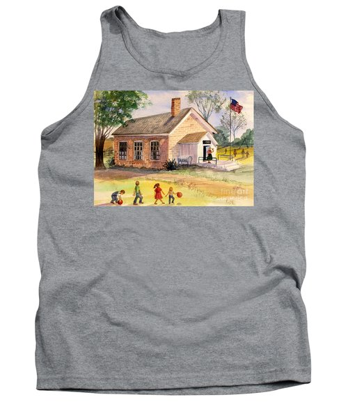 Days Gone By Tank Top by Marilyn Smith