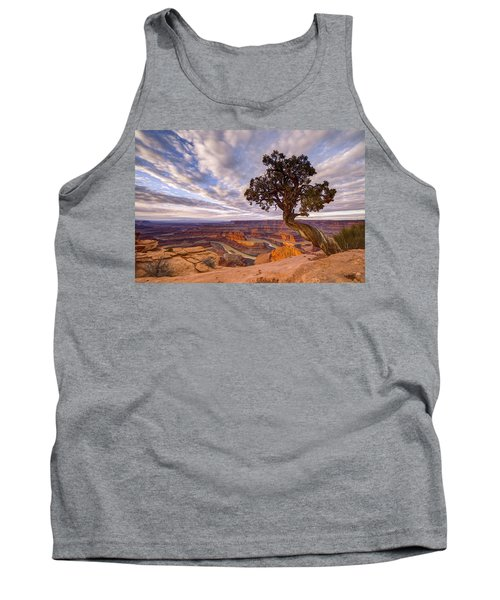 Tank Top featuring the photograph Dead Horse Point Sunrise by Dustin  LeFevre