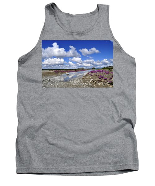 Tank Top featuring the photograph Delta Junction Summer by Cathy Mahnke