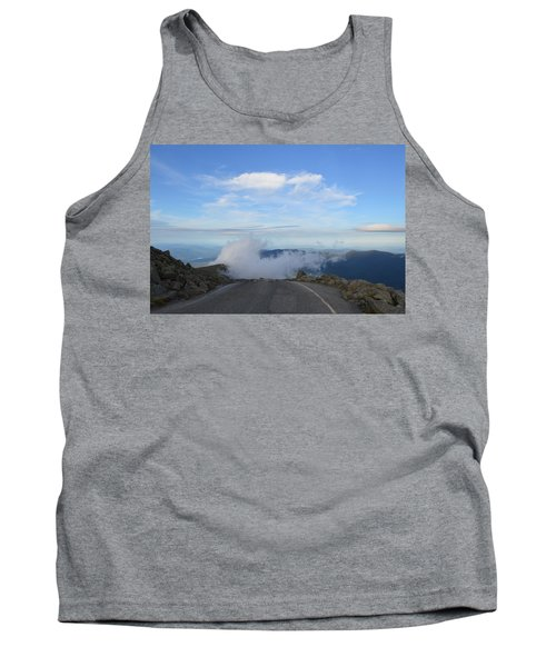 Descending Into The Clouds Tank Top
