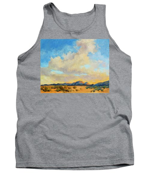 Desert Clouds Tank Top